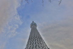 View of TOKYO Skytree(634m) Stock Image