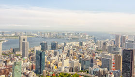 View of Tokyo from Tokyo Tower Royalty Free Stock Photos