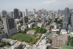 The View from Tokyo Tower Royalty Free Stock Photos