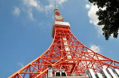 View on Tokyo Tower, Tokyo, Japan. Stock Photo