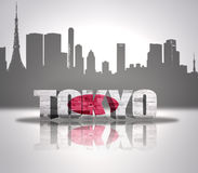 View of Tokyo Royalty Free Stock Photography