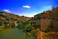 View on Toledo Royalty Free Stock Photography