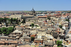 View of Toledo. View of old city Toledo (Spain Royalty Free Stock Photography