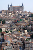 The view of Toledo. The view of the medieval town Stock Images