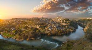 View of Toledo. Amazing view of Toledo, Spain Stock Photography