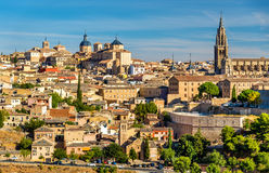 View of Toledo with the Cathedral - Spain Stock Photography