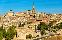 View of Toledo with the Cathedral - Spain Royalty Free Stock Photography