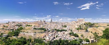 View of Toledo city. Royalty Free Stock Photography