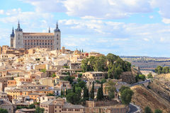 View of Toledo near Madrid Stock Image