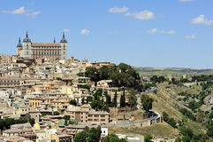 View of Toledo (Spain) Royalty Free Stock Photo