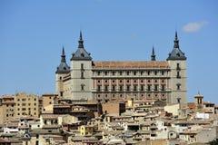 View of Toledo (Spain). View of Alcazar de Toledo (Spain Royalty Free Stock Photos