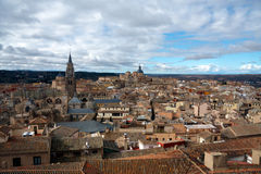 View of Toledo spain Stock Photography