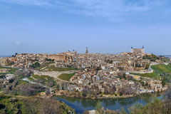 View of Toledo, Spain Royalty Free Stock Photography