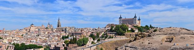 View of Toledo. Stock Images