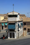 View of Toledo streets. TOLEDO, SPAIN Royalty Free Stock Image