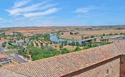 View of Toledo. On a sunny day Stock Images