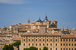 View of Toledo town Stock Photography