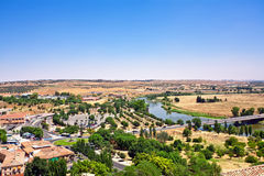 View on Toledo town. Spain Royalty Free Stock Image