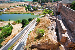 View on Toledo town. Spain Stock Image