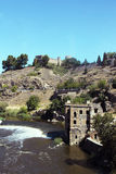 View on Toledo wall and river Royalty Free Stock Photography