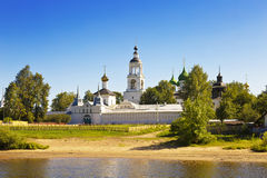View of the Tolgsky monastery.View from Volga river. Yaroslavl, Stock Photo