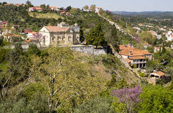 View of Tomar Portugal Royalty Free Stock Photo