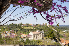 View of Tomar Portugal Royalty Free Stock Image