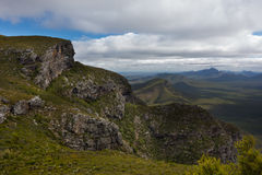 View from top of Bluff Knoll, Stirling Ranges, WA Royalty Free Stock Photos