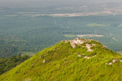 View from top of Broga Hill in Malaysia Royalty Free Stock Images