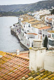 Cadaqués roof Royalty Free Stock Photography
