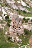View top of Cappadocia Stock Image
