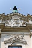 View on top of church on skalka in cracow in poland Stock Photography