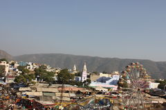 View from the top of the city of Pushkar Stock Image