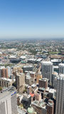 View from the top of the city from Sydney Tower Stock Photo