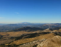 View from top of Dinara (Croatia) Stock Photos