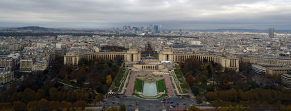 View from top of Eiffel Tower Stock Photos