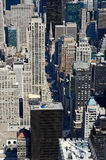 View from Top of the Empire State Building. NYC from Top of the Empire State Building royalty free stock image