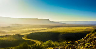 The View from the Top of the Kaibab Plateau in Arizona Royalty Free Stock Photo