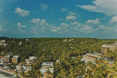 View from the top at Kovalam Stock Images