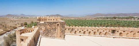 View from the top level of the Jabrin Castle