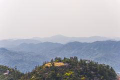View from the top of Miyajima island, Japan Royalty Free Stock Photo