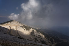 View from the top of Mont Ventoux, Provence Stock Photos