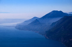 View from the top of Monta Baldo Royalty Free Stock Images