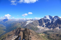 View from the top of mount Cheget Stock Image