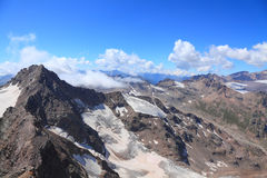 View from the top of mount Cheget Stock Photos
