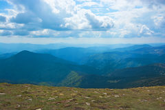 View from the top of the mountain. Stock Image