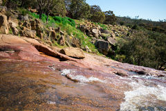 A view from top of National Park falls plateau in John Forrest N Royalty Free Stock Photo