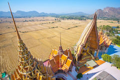A view from the top of the pagoda Royalty Free Stock Photography