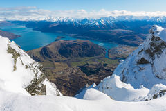 View from top of the Remarkbles Mountain Royalty Free Stock Images