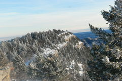 View from the top of the Sandias Stock Photography
